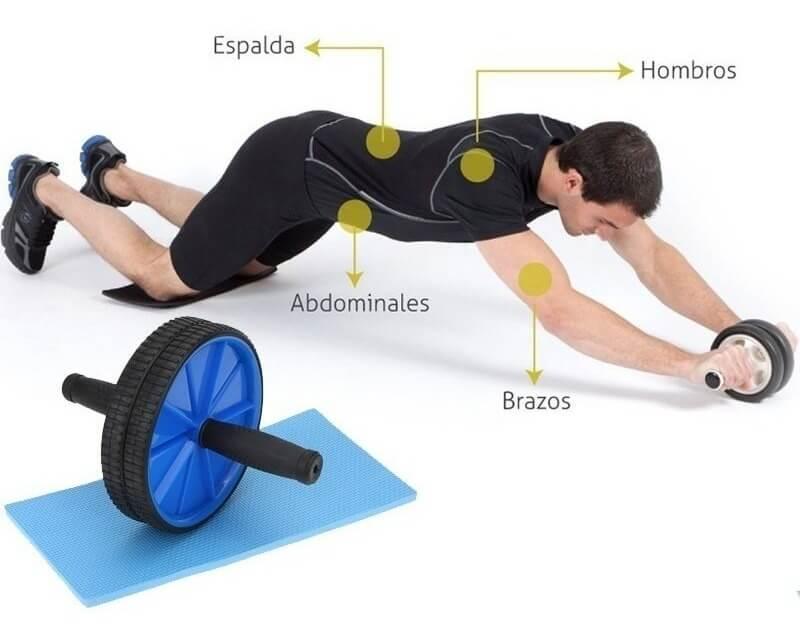 rueda abdominal equipos para entrenar en casa