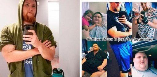 historia de transformación corporal