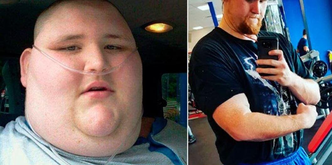 perdió más de 270 kilogramos