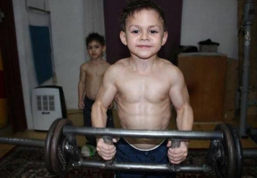 los musculos para niños