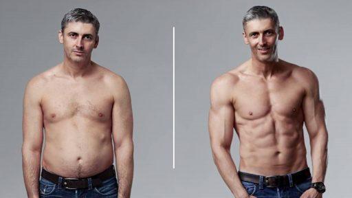 ben-jackson Transformó su cuerpo a sus 46 años