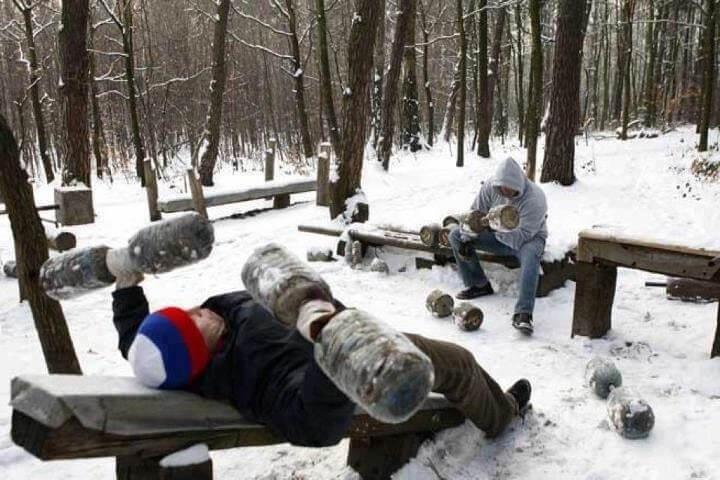 entrenar en frio