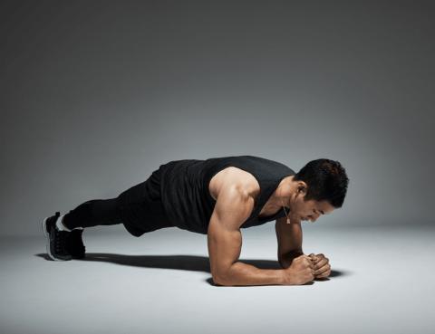 planchas abdominales gym