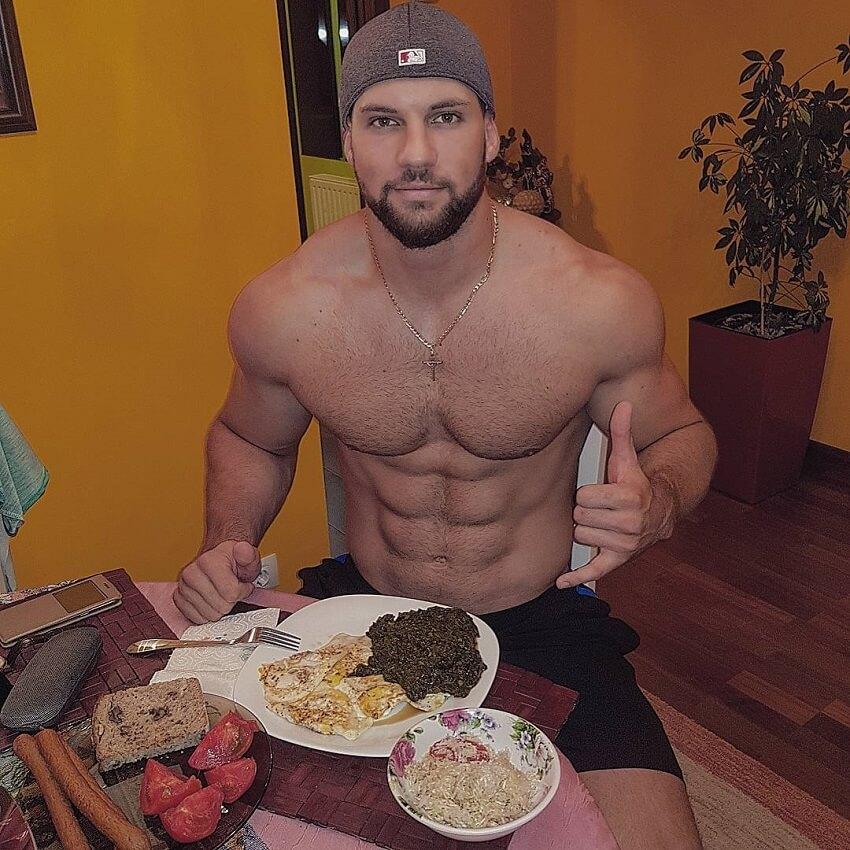 Florian Munteanu dieta
