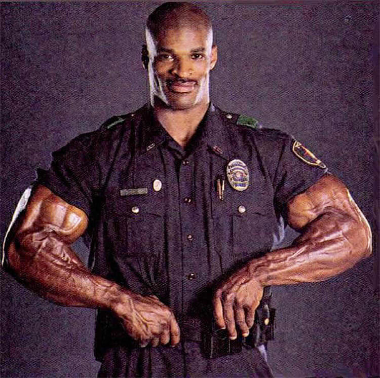Ronnie Coleman policia