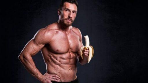 bananas aumenta la masa muscular