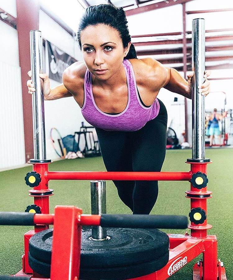 Ashley Nocera ejercicios
