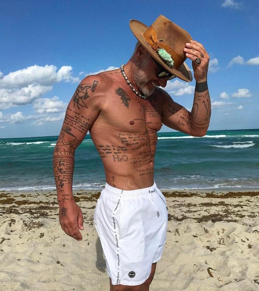 Gianluca Vacchi tatuajes