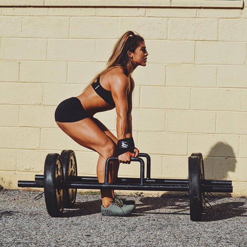 Heba Ali rutina de entrenamiento