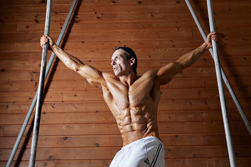 Helmut Strebl biceps