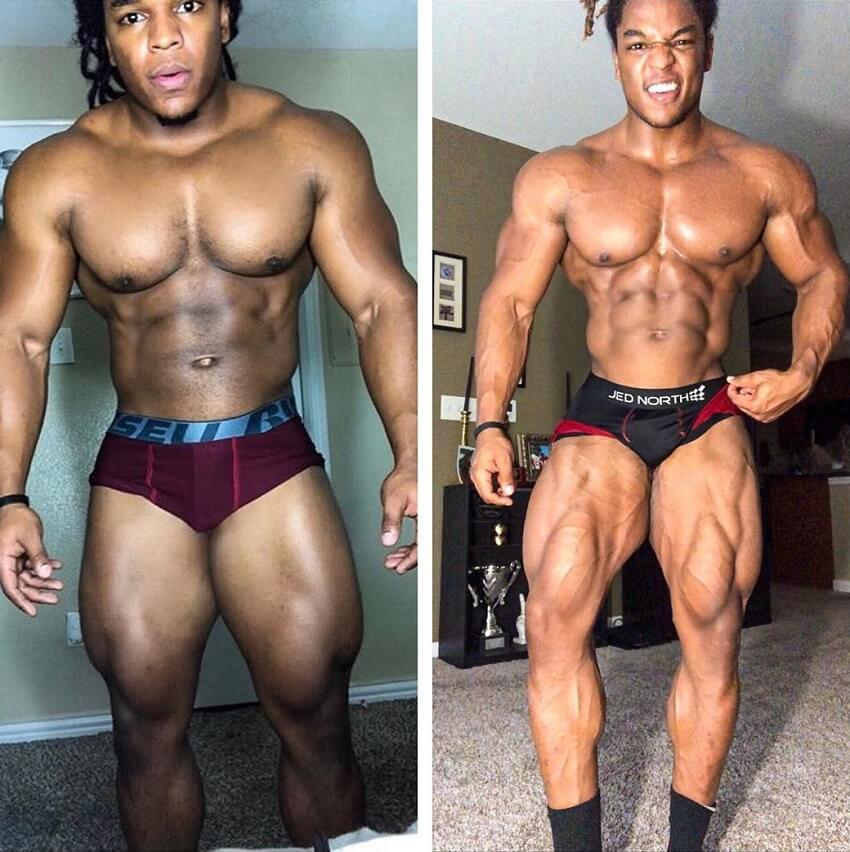 Jay Coss masa muscular