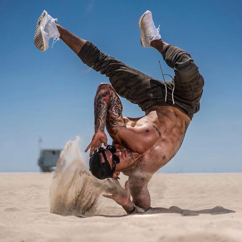 Michael Vázquez fitness